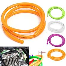 60% Dropshipping!Universal Motorcycle Bike 1M Petrol Fuel Hose Gas Oil Pipeline Rubber Tube Pipe