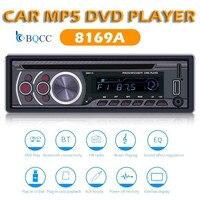 Single 1 Din 12V Car Radio Stereo DVD CD Player MP3 USB/FM/AUX In Dash Bluetooth Head Unit Autradio