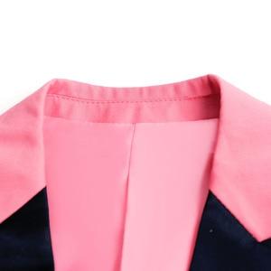Image 3 - PYJTRL мужской качественный цветной деловой приталенный Повседневный Блейзер зеленый фиолетовый розовый цвет шампанского желтый черный цвет
