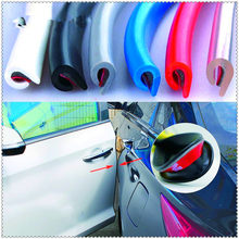 5M Auto Car Door Edge Rubber cover Strip Protection for Ford Focus MK2 MK3 MK4 kuga Escape Fiesta Ecosport Mondeo Fusion(China)