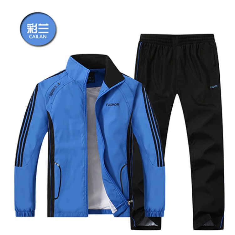 Spring And Autumn New Style MEN'S Sport Suit Men's Sports Clothing Hoodie Suit Teenager Slim Fit Jogging Suits 268