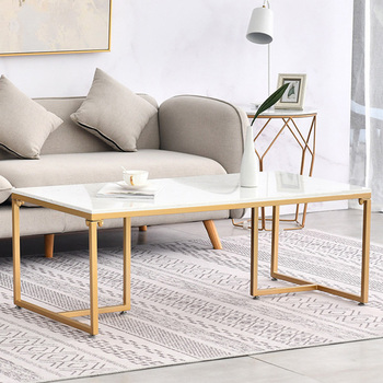 цена на Nordic marble coffee table modern small apartment living room luxury simple rectangular sofa side coffee table