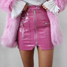 Hip-Skirt Women Zipper-Bag Spring Split Slim Sexy Autumn High-Waist Casual Fashion