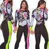 2019 pro equipe triathlon terno feminino camisa de ciclismo skinsuit macacão maillot ciclismo ropa ciclismo conjunto manga longa almofada gel 013 24
