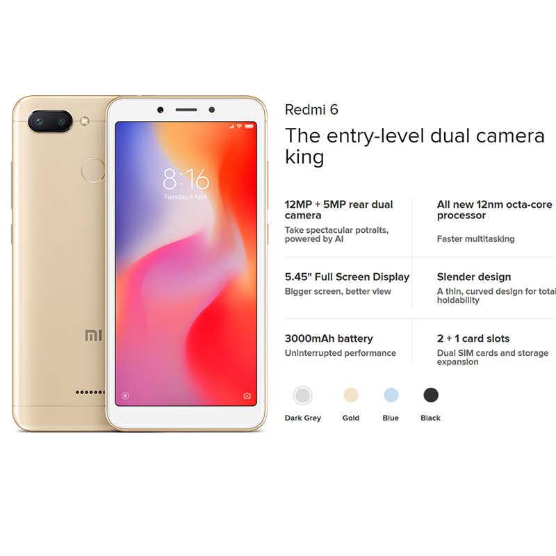Versão global xiaomi redmi smartphone estoque apuramento quantidade limitada primeira compra servido telefone móvel 1