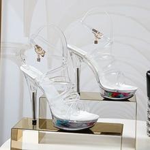 2020 Босоножки на платформе женская свадебная обувь пикантные