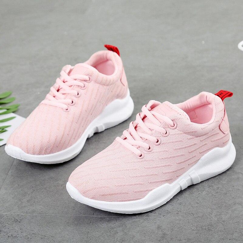 Sneakers Women Casual Shoes white ladies Air Mesh Trainers Basket Femme Wedges female Canvas Shoes black tenis feminino AC-186 Сникеры