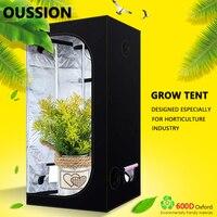 Bitki büyümek çadır 60/80/100/120/150/240CM büyümek kutusu kapalı hidroponik yetiştirme odası ev bitki bahçe sera bitkisi ışık çadır