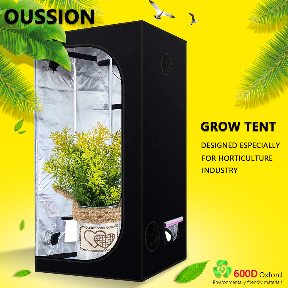 Plant Grow Tent 60 80 100 120 150 240cm Grow Box Indoor Hydroponic Grow Room Home Plant Garden For Greenhouse Plant Light Tent Growing Tents Aliexpress