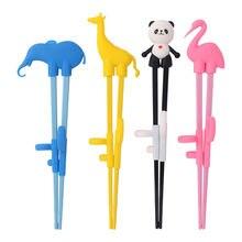 Детские тренировочные палочки для еды начинающих костюмы животных