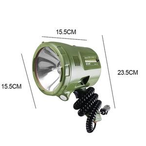 Image 4 - 220w Marine Searchlight,160W HID spotlight,12v 100W xenon lamp,35W/55W/65w/75w portable Spotlight for car,hunting,camping,boat,