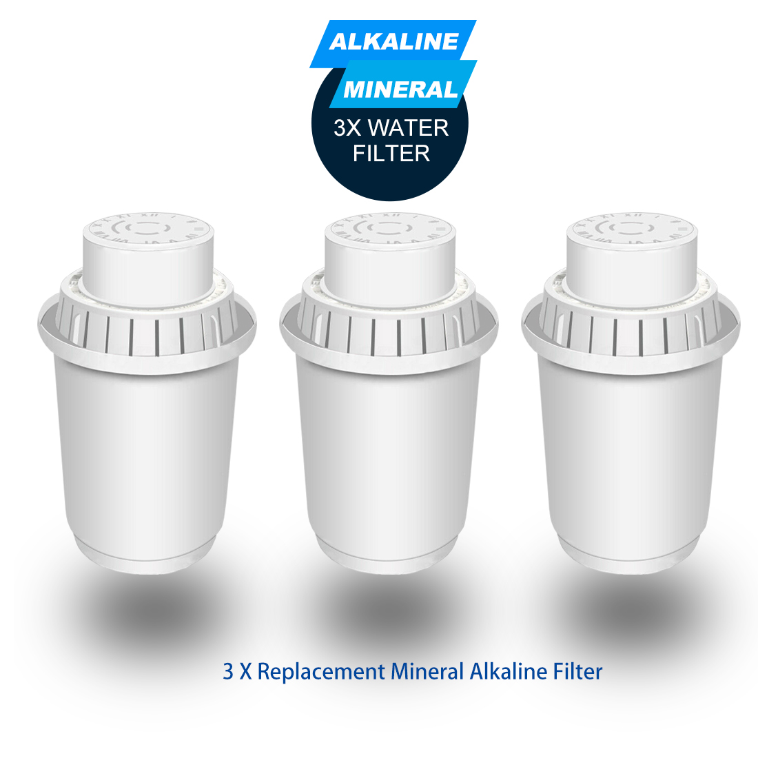 ALTHY Mineral Alkaline Water Filter Ionizer Only Fit For ALTHY Water Pitcher - Purifier Filtration System - PH Alkalizer