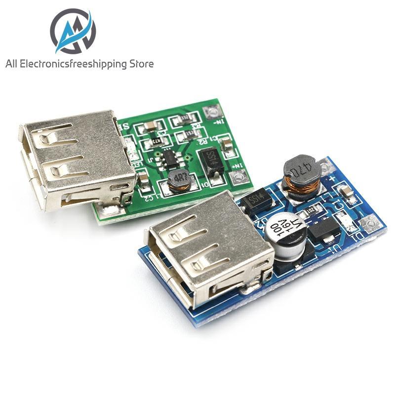 DC-DC Boost Module (0.9V ~ 5V) 600mA Boost Converter Step Up Module USB Mobile Power Boost Board
