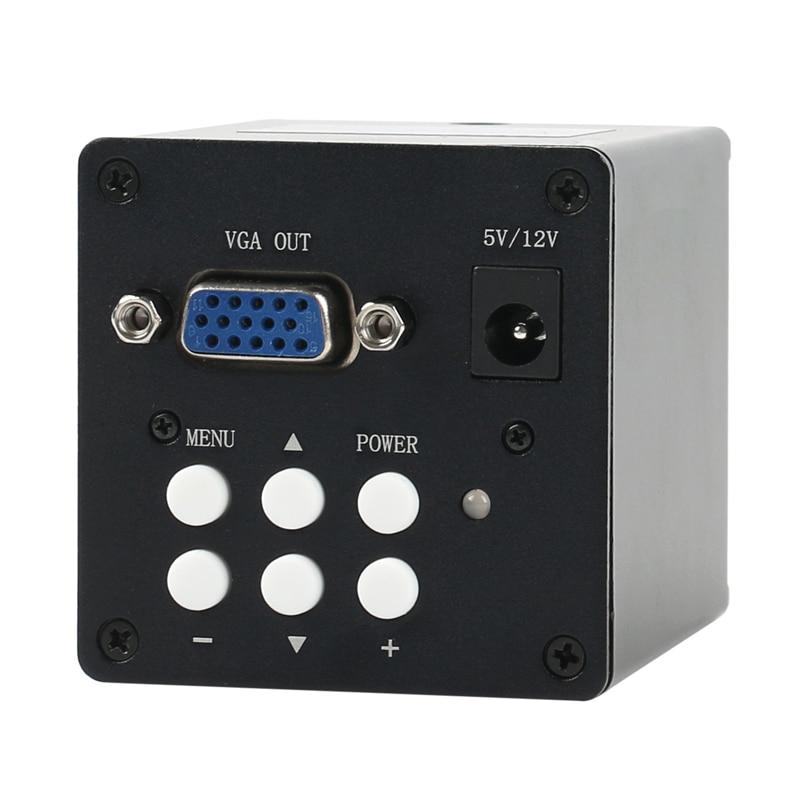 2019 2.0mp 1080P Industriale VGA Elettronico Digitale di Video Microscopio C di montaggio Della Macchina Fotografica Per Il Laboratorio Del Telefono PCB BGA CPU Riparazione di saldatura