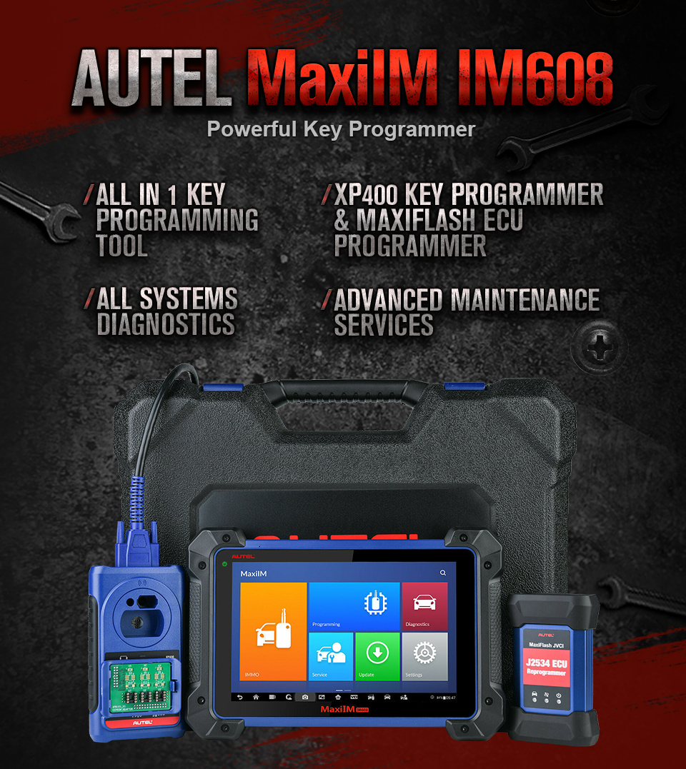 Autel IM608 MaxiIM 608 OBD2 Scanner OBDII Car Auto Diagnostic Tool OBD 2  All System Key Programming PK IM508 Key Programmer|diagnostic scanner|autel  maxidasscanner tools - AliExpress