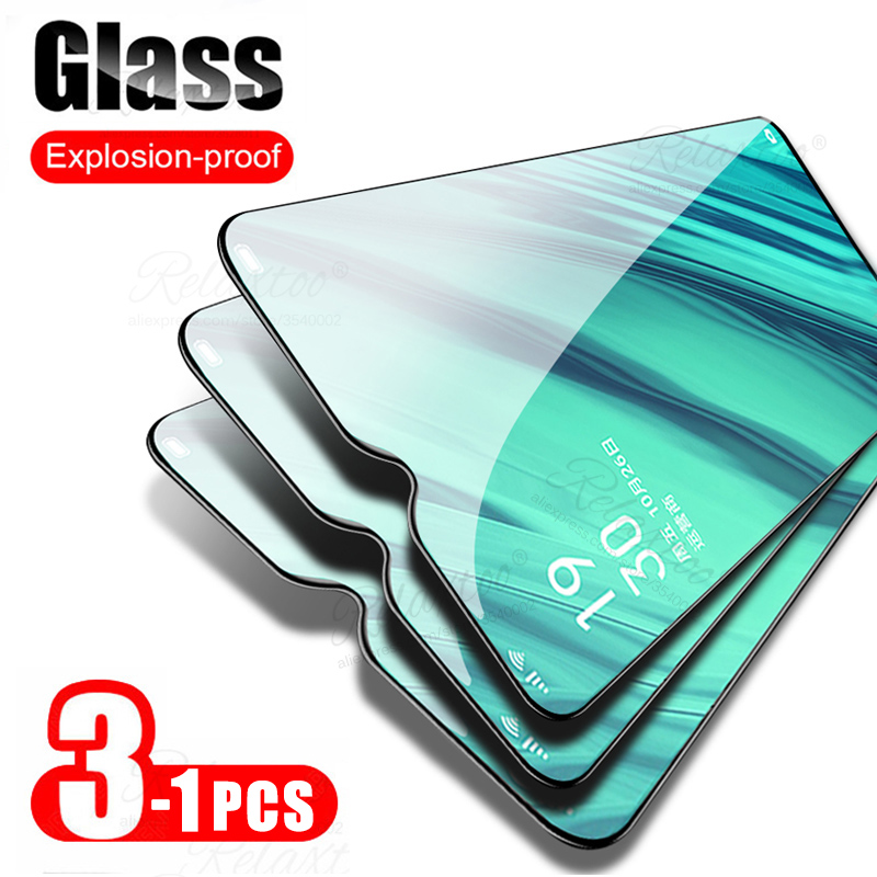 3PCS 9H Tempered Glass on For Xiaomi Redmi Note 8 Pro T 8T 9S 9 8A Screen Protector Redmi note 7 7a note7 redmi9 Protective Film(China)
