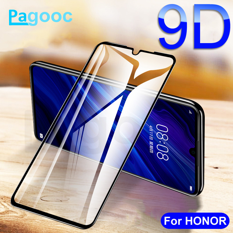 9D Tempered Glass On For Huawei Honor 9 10 20 Lite V9 V10 V20 Screen Protector Glass For Honor 10i 20i 8X 8A 8C 8S Glass FIlm