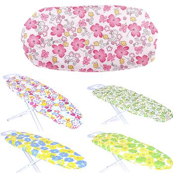 Praktyczne żaroodporne pokrywa na deskę do prasowania zmywalne trwałe grube wymienne lekkie elastyczna krawędź w kwiatowy wzór druku domu tanie i dobre opinie HOUSEEN