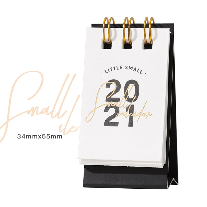 2021 Year Kraft Paper Mini Desk Calendar 6