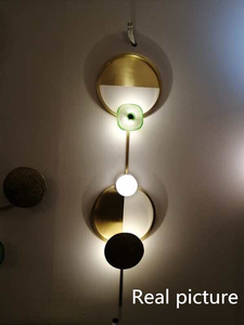Image 5 - New Vintage Novelty Copper Led Wall Lamp Indoor Atr Decoration For Parlor Bedroom Bedside Aisle Diningroom Led Wall Light Sconce