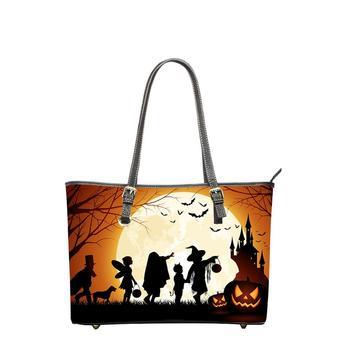 Bolso de PU para mujer para Halloween, bolso bandolera grande para gato,...
