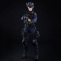 1/6 Scale Action figure female soldier model mini times toys M016 Soldier Model Set Female SWAT for 12 inch moving figures