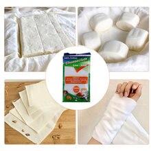 15 ярдов белый хлопок Марля Муслин марлевая ткань сыра Обёрточная