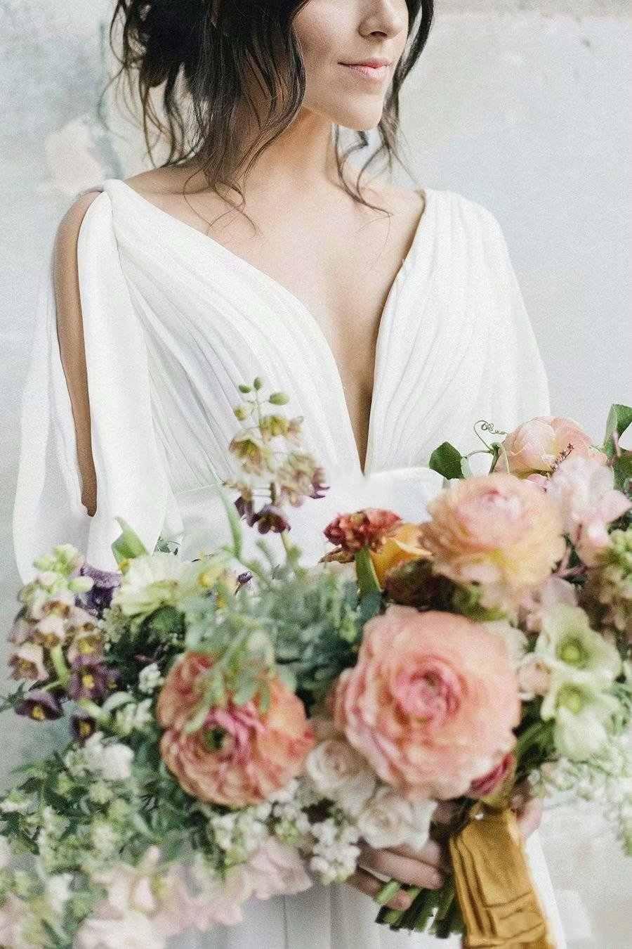 Yiminpwp Bohemian Váy Áo Cổ Chữ V Hở Lưng Nửa Tay Càn Quét Tàu Voan Rủ Đi Biển Mùa Hè Nước Cô Dâu Đồ Bầu