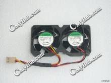 For SUNON KDE1204PKB2 MS.(2).F.GN DC12V 1.6W 8020 8CM 80mm 80x80x20mm 3pin 3Wire Cooling Fan(China)