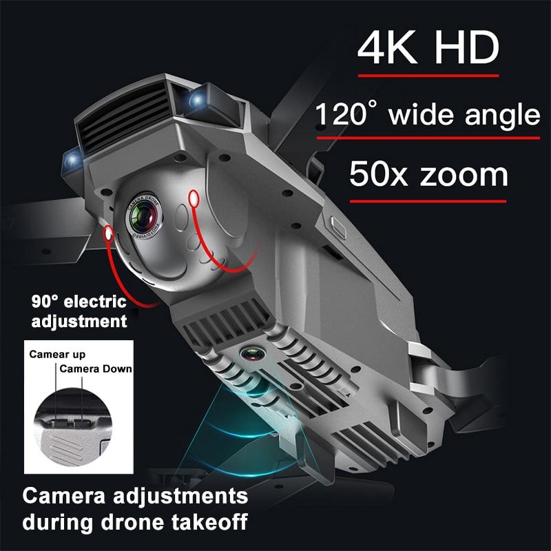 Clearance SaleLAUMOX Gps-Drone Quadcopter Adjustment-Camera E520S Foldable Professional Wide-Angle