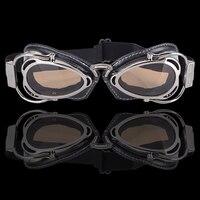 BJMOTO Motorrad Brille Motocross Sonnenbrille Für Harley Drit Fahrrad Racing Staubdicht Glas Anit Wind Brillen Pilot Google