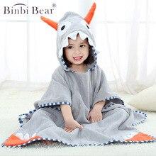 Cute Kids Flower Girl Bath Robe Cartoon Bathrobe Towel Children Thick Cotton Flannel Nightgowns Hooded Night-Robe Warm Sleepwear
