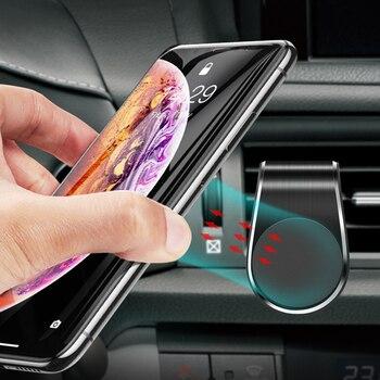 Metallo Magnetico Supporto Del Telefono Dell'automobile per Chevrolet Cruze Aveo Captiva Lacetti Mazda 2 3 6 CX5 Mitsubishi ASX Lancer Outlander KIA RIO 1