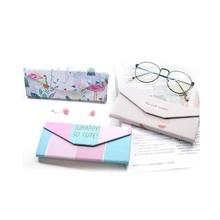 Student Myopia Folding Glasses Case Sunglasses Women And Men Glasses Box Fresh Portable Glasses Box Storage Box