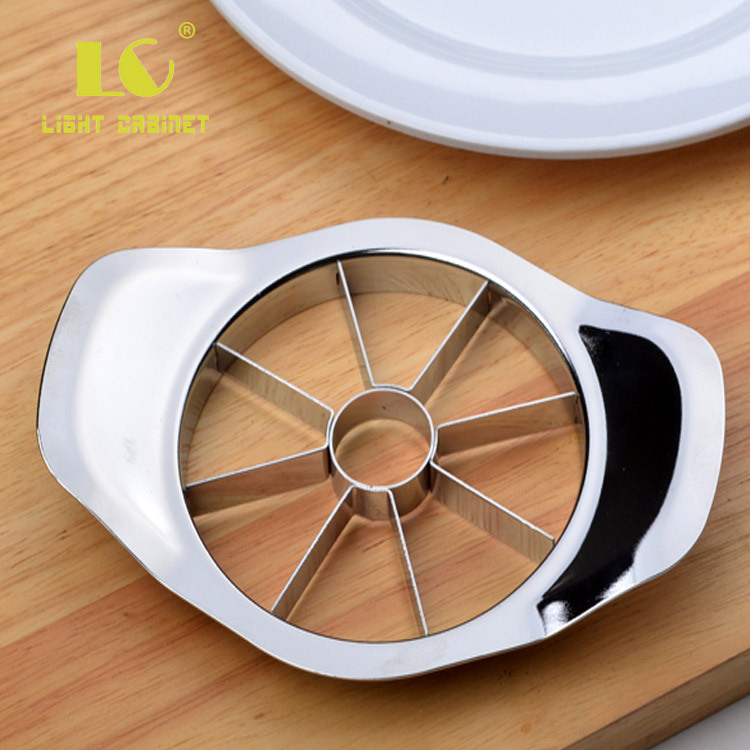 Europe And America Quality Fully Stainless Steel Apple Corer To Core Knife Fruit Splitter