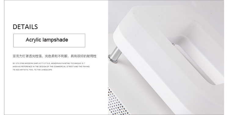 H756b1be916bb4e60b11e623e04bd2fe5K Artpad Modern Flush Mount Ceiling Light Hallway Porch Balcony Lamp Interior Lighting Surface Mounted Square LED Ceiling Lights