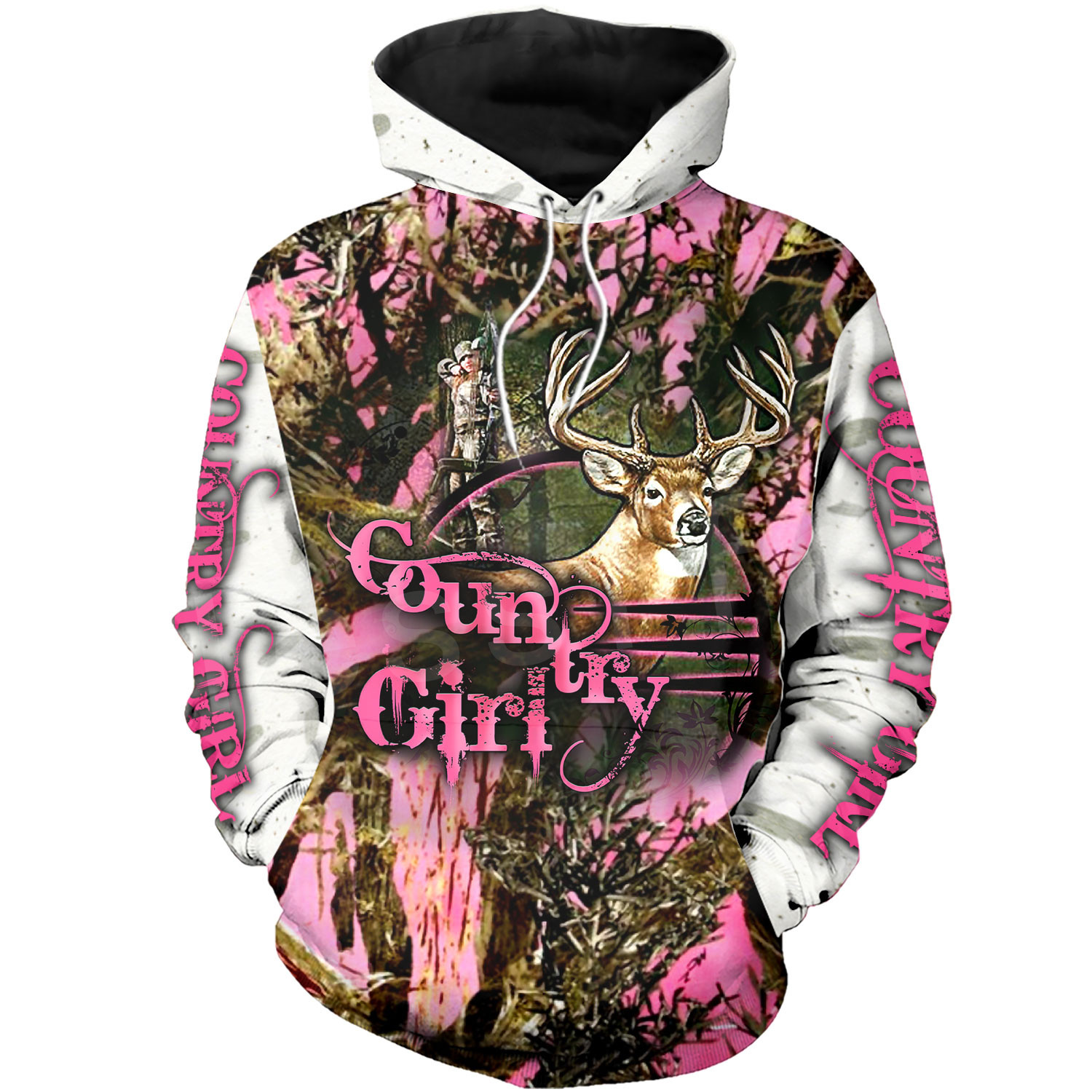 Tessffel Animal Deer Hunter Colorful Camo New Fashion Tracksuit Casual 3DPrint Hoodie/Sweatshirt/Jacket/Mens Womens S-3