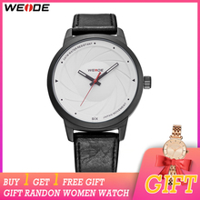 WEIDE Fashion Casual Men Top Brand Luxury Quartz Watch Reloj Hombre saat Black Clock relogio Masculino Women Gift
