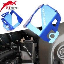 Dla YAMAHA MT09 MT 09 mt 09 FJ 09 FZ 09 2014 2021 motocykl CNC wysokiej jakości tylny płyn hamulcowy zbiornik osłona osłona Protector