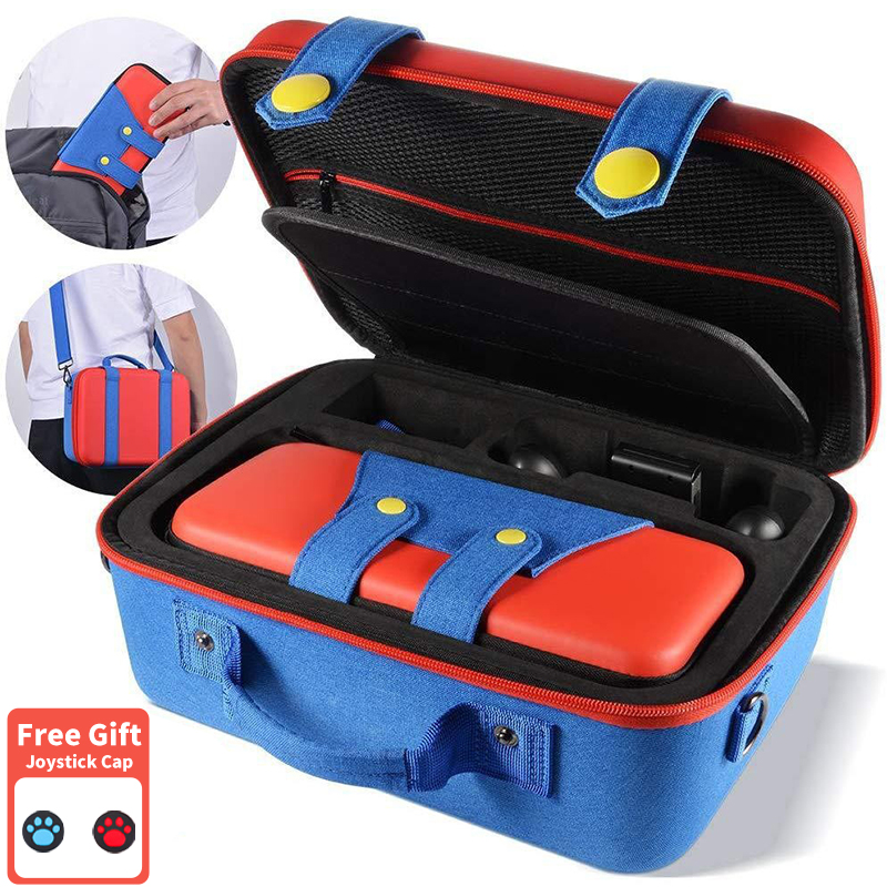Travel Carrying Case for Nintendo Switch Cute and Deluxe Protective Hard Shell Carry Bag for Nintendo Switch Case Portable Bag