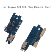 Для LEAGOO S11 USB разъем зарядное устройство для платы микрофон модуль кабель Разъем для телефона Leagoo S11 запасные части