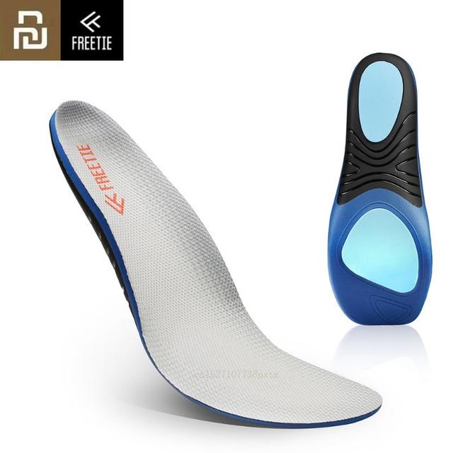 Plantillas deportivas Youpin FREETIE EVA con absorción de impacto, plantillas deportivas cómodas de alta elasticidad, transpirables, informales
