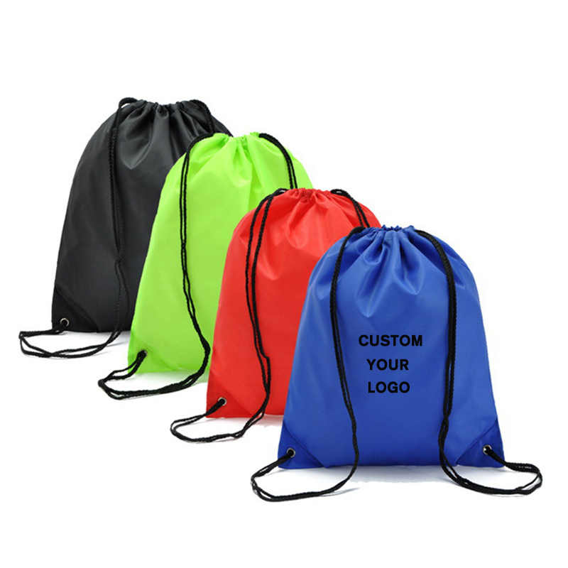 Drawstring Bags Sports Storage Bag Riding Backpack Gym Fitness Drawstring Bag Shoes Clothes Backpacks WholeSale