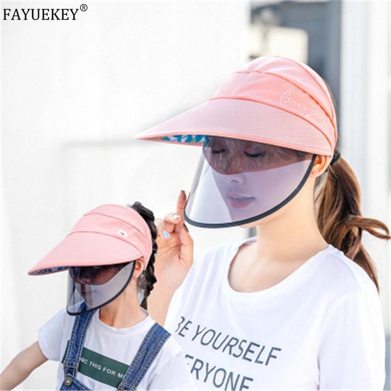 Multifunction Protective Cap Fisherman Anti-droplets Protective Hat Eye Protection Anti-fog Windproof Hat Anti-saliva Face Cover