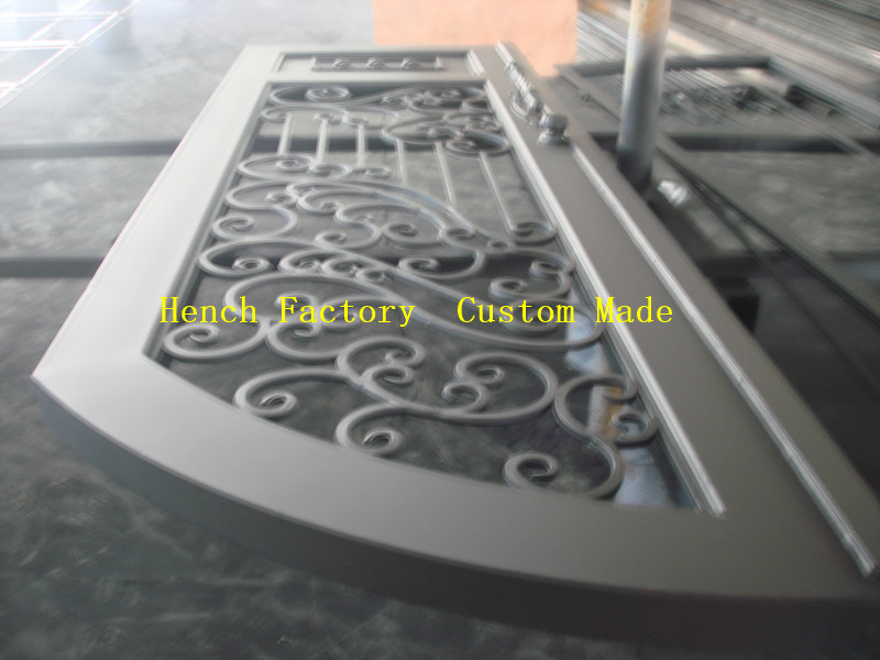 Shanghai Hench Brand China Factory 100% Custom Made Sale Australia Beautiful Iron Doors