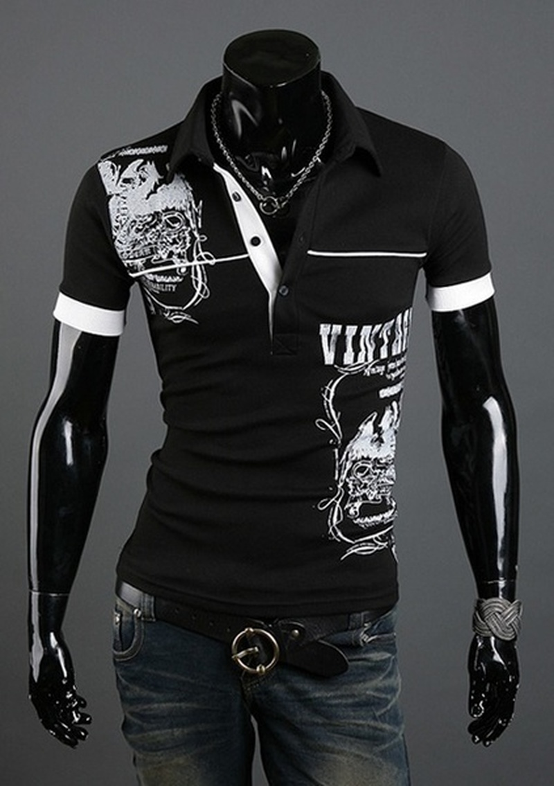 ZOGAA Summer Men Short Sleeve   Polo   Shirt Cotton Jerseys   Polos   Streetwear Printed Clothing Slim Fit Lapel Casual Breathable Shirt