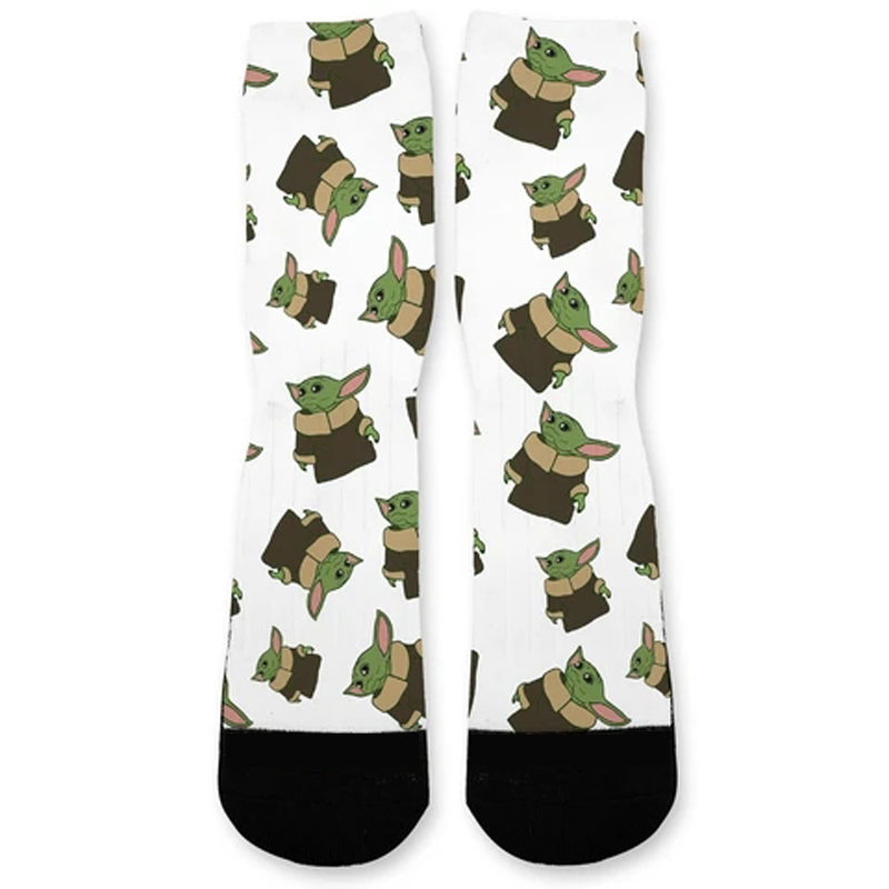 Yoda Baby Socks