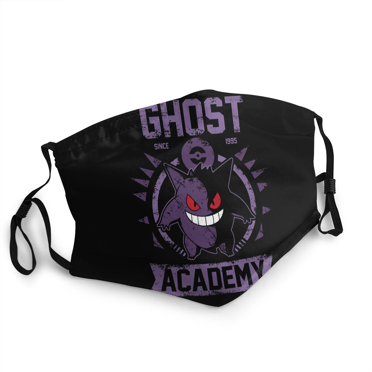 Ghost Academy Reusable Mouth Face Mask Gengar Kaiju Pokemon Anti Haze Dust Mask Protection Cover Respirator Mouth Muffle