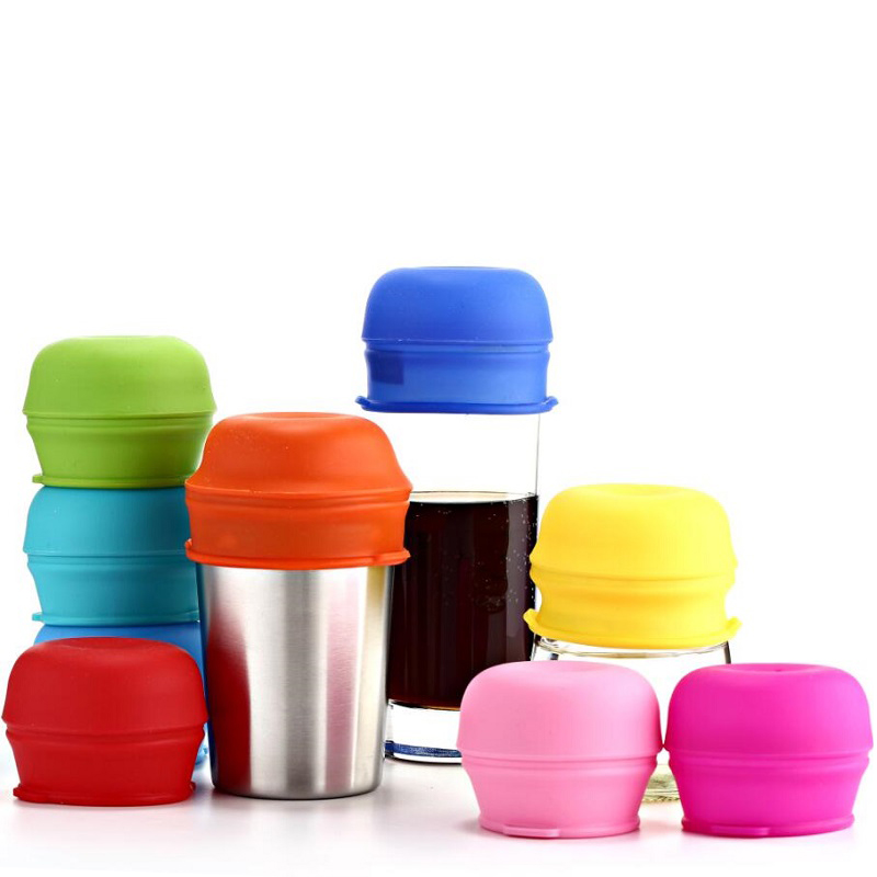 Durable ,safty Smart Design Soft Silicone Straw Cover Lids For Baby,Tumble Covers For Cup