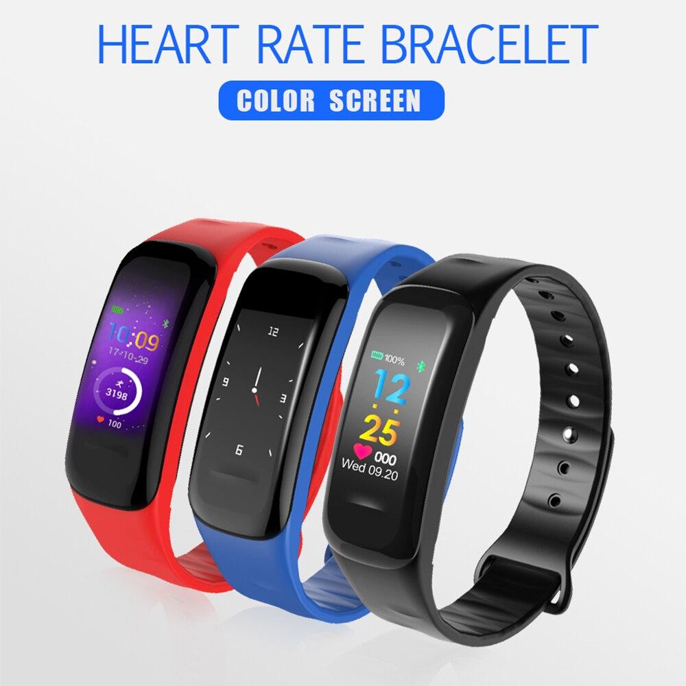 2019 C18 умные браслеты для мужчин и женщин пульсометр кровяное давление браслет для мониторинга упражнений фитнес трекер Смарт Bracel D30|Смарт-браслеты|   | АлиЭкспресс